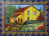 mexican ceramic tile mural