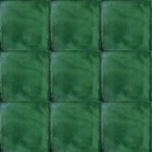 unique washed green mexican tile
