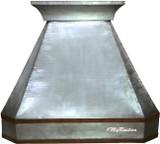 zinc kitchen hood for range