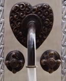 European bar kitchen wall bronze faucet