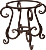Arabic forged iron table base