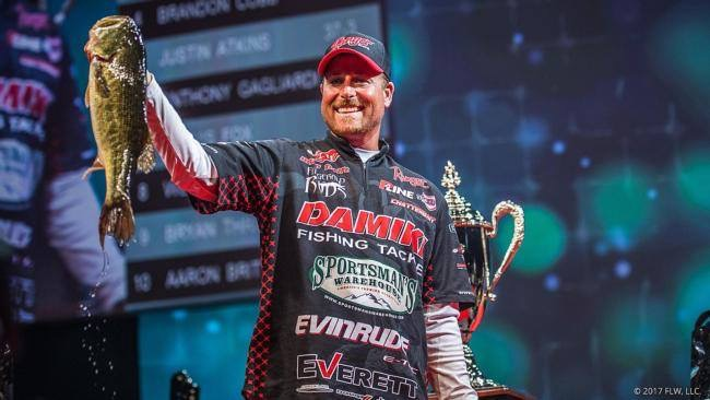 Fitzgerald FLW Pro Bryan Thrift Secures A 4th Place Finish At The 2017 Forrest Wood Cup