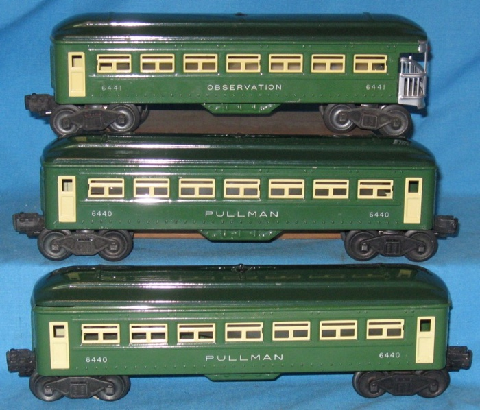 passenger cars 6440 6440 6441 tinplate lionel trains library rh postwarlionel com Lionel Whistling Tender Lionel 0 Scale Tenders