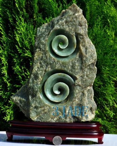 Double Koru Sculpture
