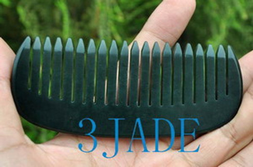 hand carved comb, hair accessory