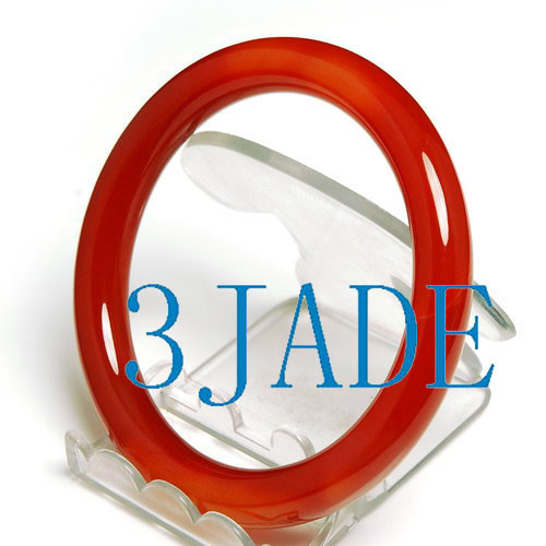 60mm red agate bangle