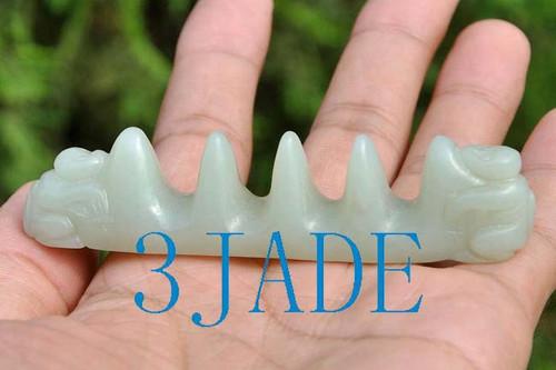 Jade Calligraphy Brush Stand Holder