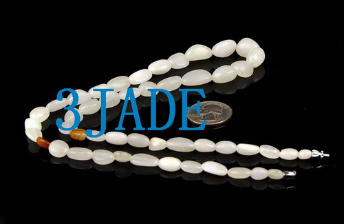 white jade necklace