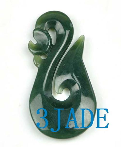 jade Manaia fish hook