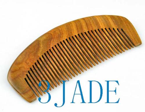 Green Sandalwood Comb