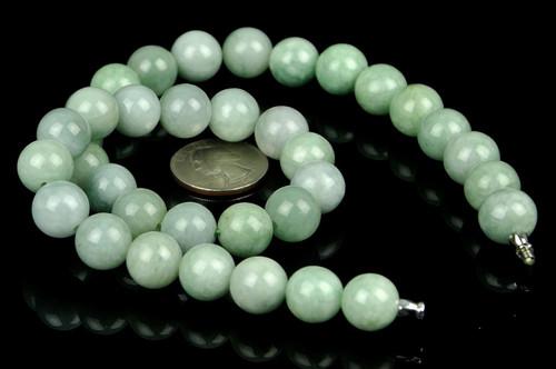 A Grade Jadeite Jade Necklace