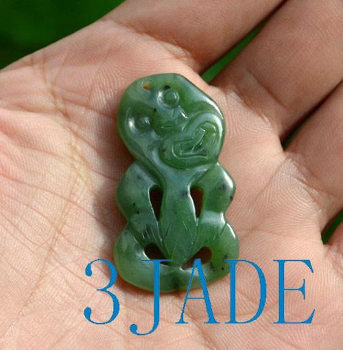 green jade Hei Tiki