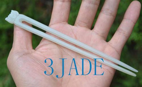 jade hair stick