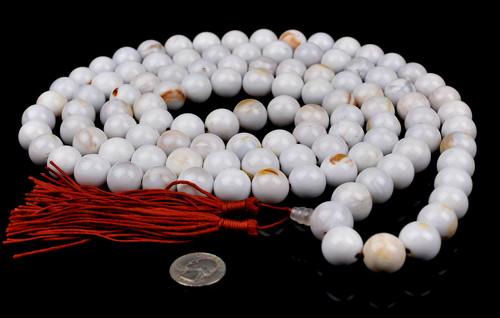 Petrified Wood Prayer Beads