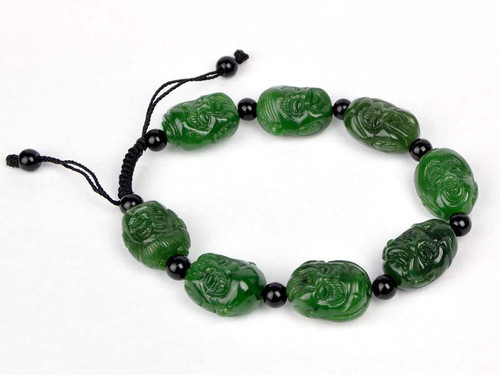 carved Eight Immortals beads bracelet,