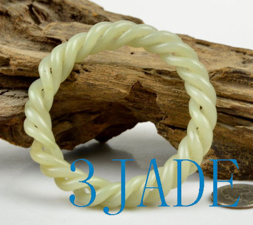 carved rope bangle