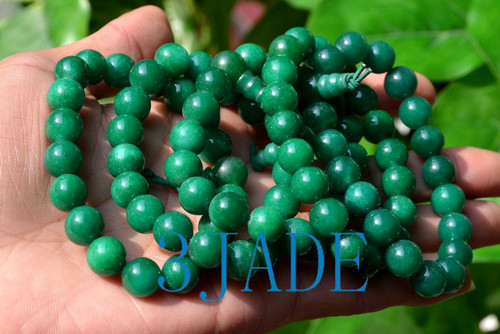 green jade wrist prayer beads