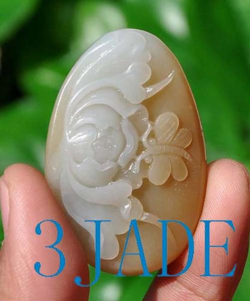 Jade flower butterfly