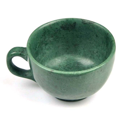 green stone coffee cup