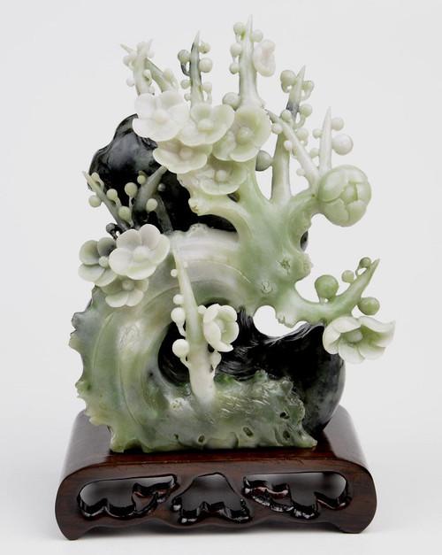 Stone Flower Statue