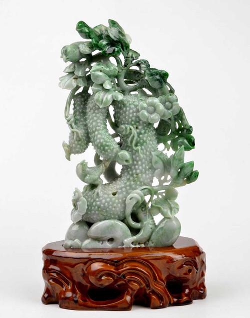 Burmese Jadeite Jade Carving