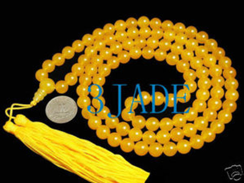 108 Jade Prayer Beads