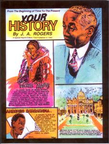 YOUR HISTORY: From The Beginning of Time to The Present, by Joel Augustus Rogers