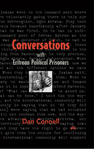 CONVERSATIONS WITH ERITREAN POLITICAL PRISONERS, by Dan Connell