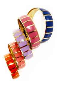 [Sample] Anna, multi-colored bangles