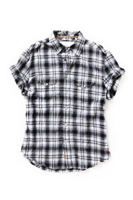 [Sample] Gant, mens casual BW check shirt