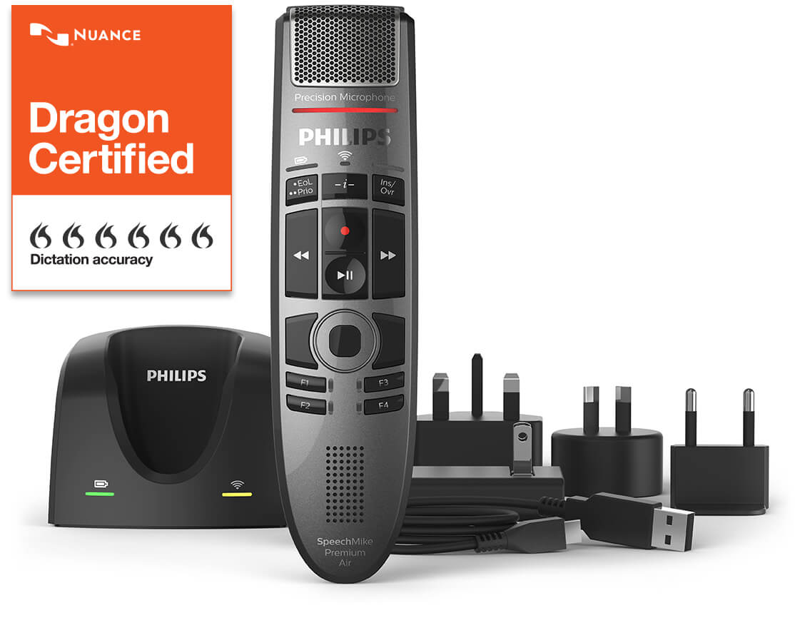 Philips Speech Mike Premium Air - Dragon Certified