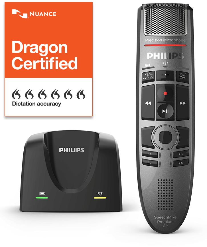 Philips Speech Mike Premium Air - Dragon Certified