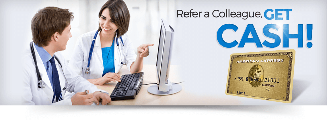 Refer a Colleague, GET CASH!