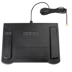 Dictaphone 0502765 Transcription Transcriber Foot Pedal - New 502765