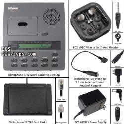 Dictaphone 3752 Micro Cassette Transcriber - Demo