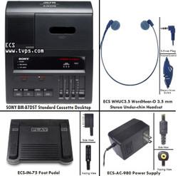 SONY BM-87DST Stereo Standard Cassette Transcriber - Pre-Owned