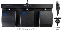 DAC FP-113/W Waterproof Three Button Foot Pedal