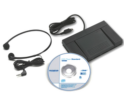 Olympus AS-2400 (147588) PC Digital Audio Transcription Software Kit