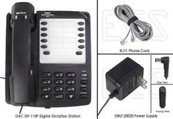 DAC DA-110P Deluxe D-Phone Digital Dictate Station