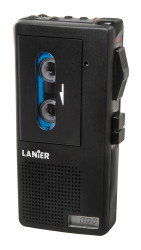 Lanier P-164 Micro Cassette Recorder - Pre-Owned