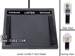 Lanier LX-1028 (425-3008) Heavy Duty Foot Pedal - New LX1028