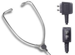 Dictaphone 0133623 2 Prong Aluminum Stethoscope Style Transcription Headset - New