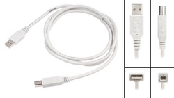 ECS USB Cable for Olympus DS-5000 & DS-5000ID New ECS-USB-A-B