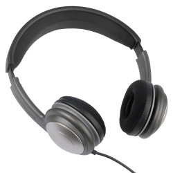 ECS Deluxe WordSlinger Mono / Stereo Over Head Headset for use with Dictaphone - New