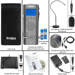 Dictaphone 5220 Walkabout Hands Free Digital Portable Recorder - New m5220
