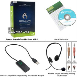 Nuance® Dragon® Naturally Speaking Legal Version 11.5 - New