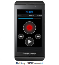 Philips LFH0745 SpeechExec Dictation Hub for BlackBerry