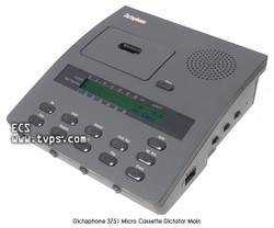 Dictaphone 3750 Micro Cassette Desktop Bare Unit - Pre-Owned
