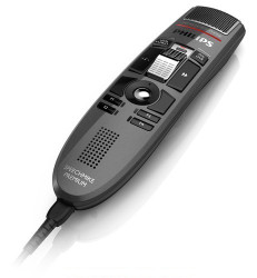 Philips LFH3610 SpeechMike Premium Slide Switch USB Dictation Microphone