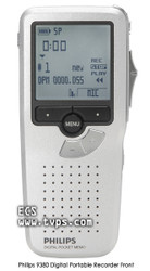 Philips 9380 Pocket Memo Digital Recorder